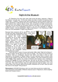 Night-Museum (English Topic)