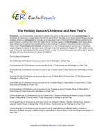 Christmas and New Year (English Topic)