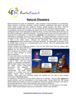 Natural-Disasters (English Topic)