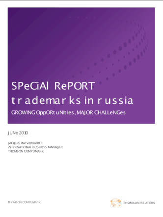 Special report Trademarks in Russia new