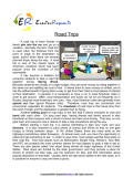 Road Trips (English Topic)