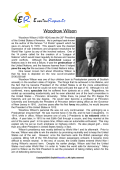 Woodrow Wilson (English Biopic)