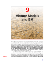 9-Mixture Models and EM