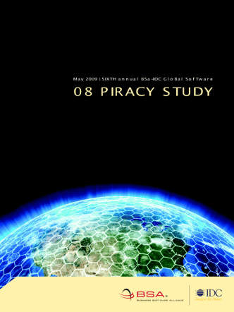 BSA Global Piracy Study 2008