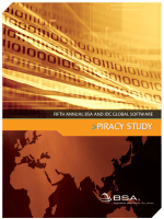 BSA Global Piracy Study 2007