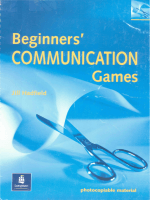 Jill Hadfield --Beginner Communication Games