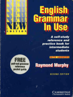 murphy raymond english grammar in use