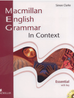 english grammar in context