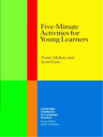5 minute activities for young learners