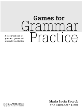 !!!Games for Grammar Practice