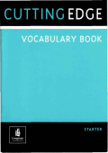 Cutting Edge Starter - Vocabulary Book