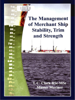Management of Merchant Ship Stability, Trim and Strength Clark 1870077598
