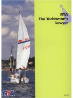RYA The Yachtsman's Lawyer