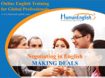 BUSINESS ENGLISH SKILLS