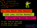 Do you think you can dance?