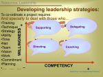Developing leadership strategies