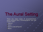 The Aural Setting