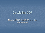 Calculating GDP - State University of New York at Geneseo