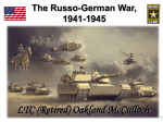The Russo-German War, 1941-1945