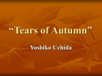"""Tears of Autumn"""