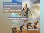 Developping Humans 10th EUROTAS Conference Planet, Culture