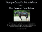 Animal Farm and Russian Revolution