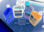 Engine Oil - Santa Rosa Junior College