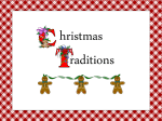 Christmas Traditions PPT