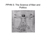 PPHN 5: The Science of Man and the Science of Human Nature