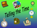 telling_the_time - Primary Resources