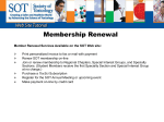 Membership Renewal - Society of Toxicology