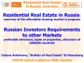 Super presentation - International Real Property