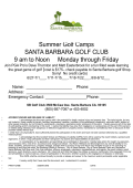 Slide 1 - Santa Barbara Youth Golf Association