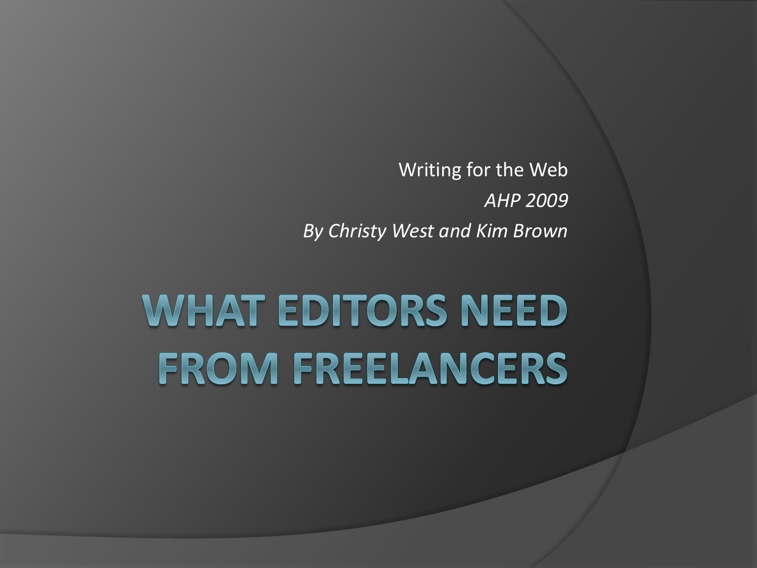 what is editorial writing