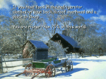 Christmas Blessings slide show