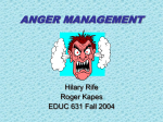 ANGER MANAGEMENT - Nebo School District