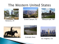 The Western United States