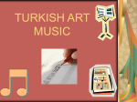 TURKISH ART MUSIC - Fredensborg Aftenskole