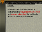 What is Autodesk Architectural Studio?