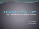 Social Economy in Turkey