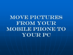 Move Pictures From Your Mobile Phone to Your PC 4-21