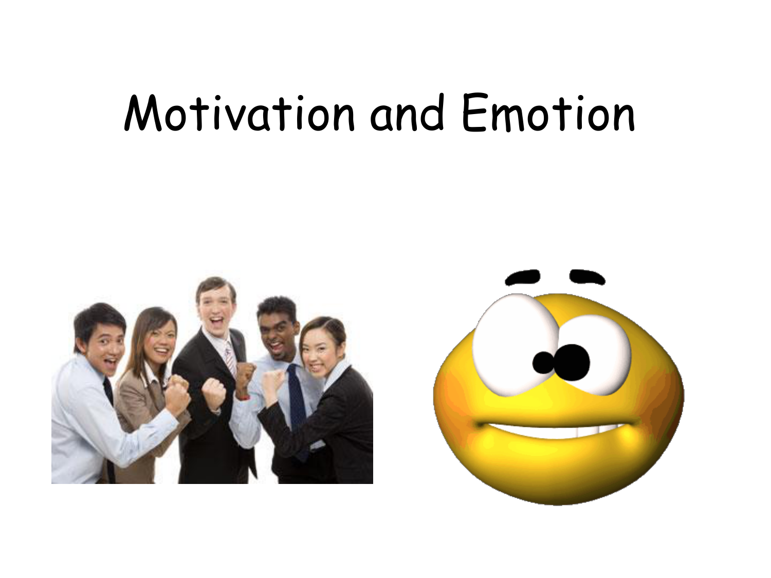motivation and behavior This thesis provides a normative computational analysis of how motivation affects  decision making more specifically, we provide a reinforcement learning model.