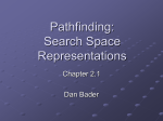 Pathfinding: Search Space Representations