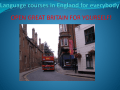 Language courses in England for everybody!
