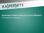 Kaspersky Endpoint Security 8.0 для Windows