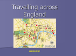 Travel across England