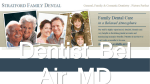 Dentist Bel Air MD Stratford Family Dental