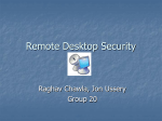 Remote Desktop Security Report
