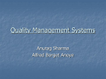 ISO 2001 Requirements