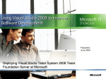 Using Visual Studio 2008 to Improve Software